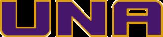 North Alabama–West Alabama football rivalry - Image: UNA Lions wordmark