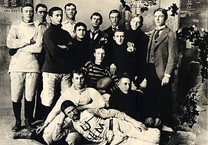 New Mexico Lobos - The first football team (1894)