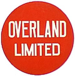 Overland Limited (UP train) - Image: UP Overland Limited