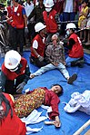 USAID, Red Cross Support Disaster Response Drill in Duy Hoa Commune, Quang Nam Province (8249548262).jpg