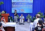 USAID Project Supports Rehabilitation Department for Children and Wheelchair Distribution in Danang (9305261426).jpg