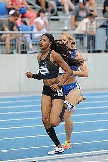 Erica Bougard American heptathlete