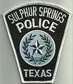 USA - TEXAS - Sulphur Springs police.jpg