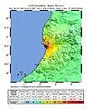 USGS Shakemap - 1960 Agadir, Morocco earthquake.jpg