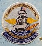USS Bon Homme Richard (CV-31) patch - Oregon Air and Space Museum - Eugene, Oregon - DSC09806.jpg