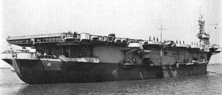 USS <i>Card</i> Bogue-class escort carrier of the US Navy