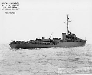 USS Casper (PF-12) - Image: USS Casper 120801201