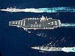 USS Eisenhower mit Begleitschiffen.jpg