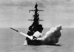 USS Farragut (DLG-6) launching RIM-2 Terrier c1962.jpg