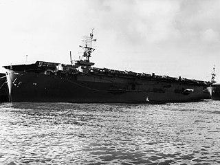 USS <i>Hoggatt Bay</i> Casablanca-class escort carrier of the US Navy