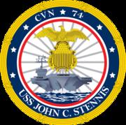 USS John Stennis CVN-74 Crest
