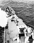 USS Long Beach (CGN-9) firing a Terrier missile, circa in 1961.jpg