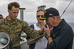 USS Makin Island places call to the International Space Station 150219-N-KL846-027.jpg