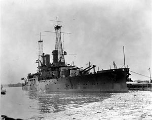 USS South Carolina (BB-26) - South Carolina in port in 1910