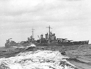 USS Wichita (CA-45) - Image: USS Wichita CA 45