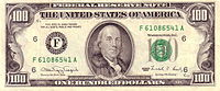 US $100 1990 Federal Reserve Note Obverse.jpg