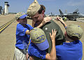 US Navy 020814-N-8703M-127 VFA-136 member is welcomed home.jpg