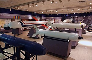 Naval Museum of Armament & Technology - Image: US Navy 030213 N 4633P 003 The U.S. Naval Museum of Armament and Technology give visitors a unique look at the developing history of modern Naval aviation armament