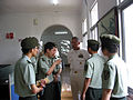 US Navy 080618-M-2361E-003 Master Chief Petty Officer Tom Howard, U.S. Pacific Fleet Master Chief, speaks with NCOs of the 179th Infantry, People's Liberation Army in Nanjing.jpg