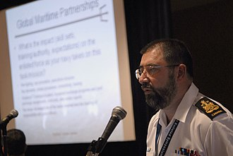 Robert Cléroux - Addressing a Symposium in 2010
