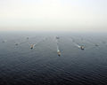 US Navy 081022-N-5961C-001 The Ronald Reagan Carrier Strike Group and the Indian navy's Western Fleet sail in formation during a passing exercise.jpg