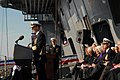 US Navy 090110-N-5735P-393 Adm. Jonathan W. Greenert addresses the audience at the commissioning ceremony of USS George H.W. Bush (CVN 77).jpg