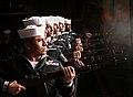 US Navy 111128-N-AP176-050 An honor detail fires a rifle volley during a memorial service aboard the aircraft carrier USS Enterprise (CVN 65).jpg