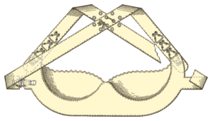 "Underwire bra - Marie Tucek's ""Breast Supporter"""