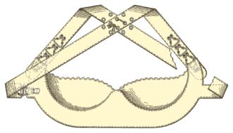 "Underwire bra - Marie Tucek's ""Breast Supporter"""