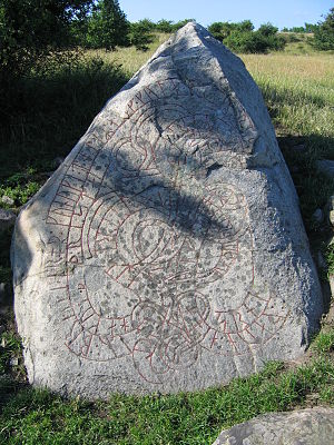Uppland Runic Inscription 11 - Image: U 11, Adelsö