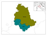 Le province dell'Umbria