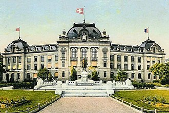 Sophia Getzowa - University of Bern in 1909