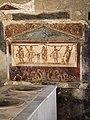 Unidentified bathroom artwork in Pompeii, 2016.jpg