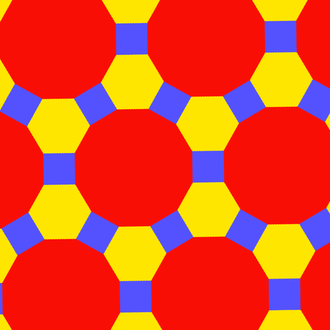 Truncated trihexagonal tiling - Image: Uniform polyhedron 63 t 012