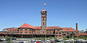 Union Station in Portland, Oregon, USA.