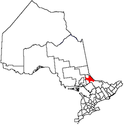 Location of Unorganized North Nipissing District