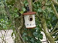 Unusual bird nesting box, near the Grand Western Canal - geograph.org.uk - 1246105.jpg