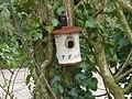 Unusual bird nesting box, near the Grand Western Canal - geograph.org.uk - 1246105.jpg