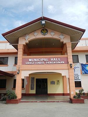 Urbiztondo, Pangasinan - Urbiztondo Town Hall
