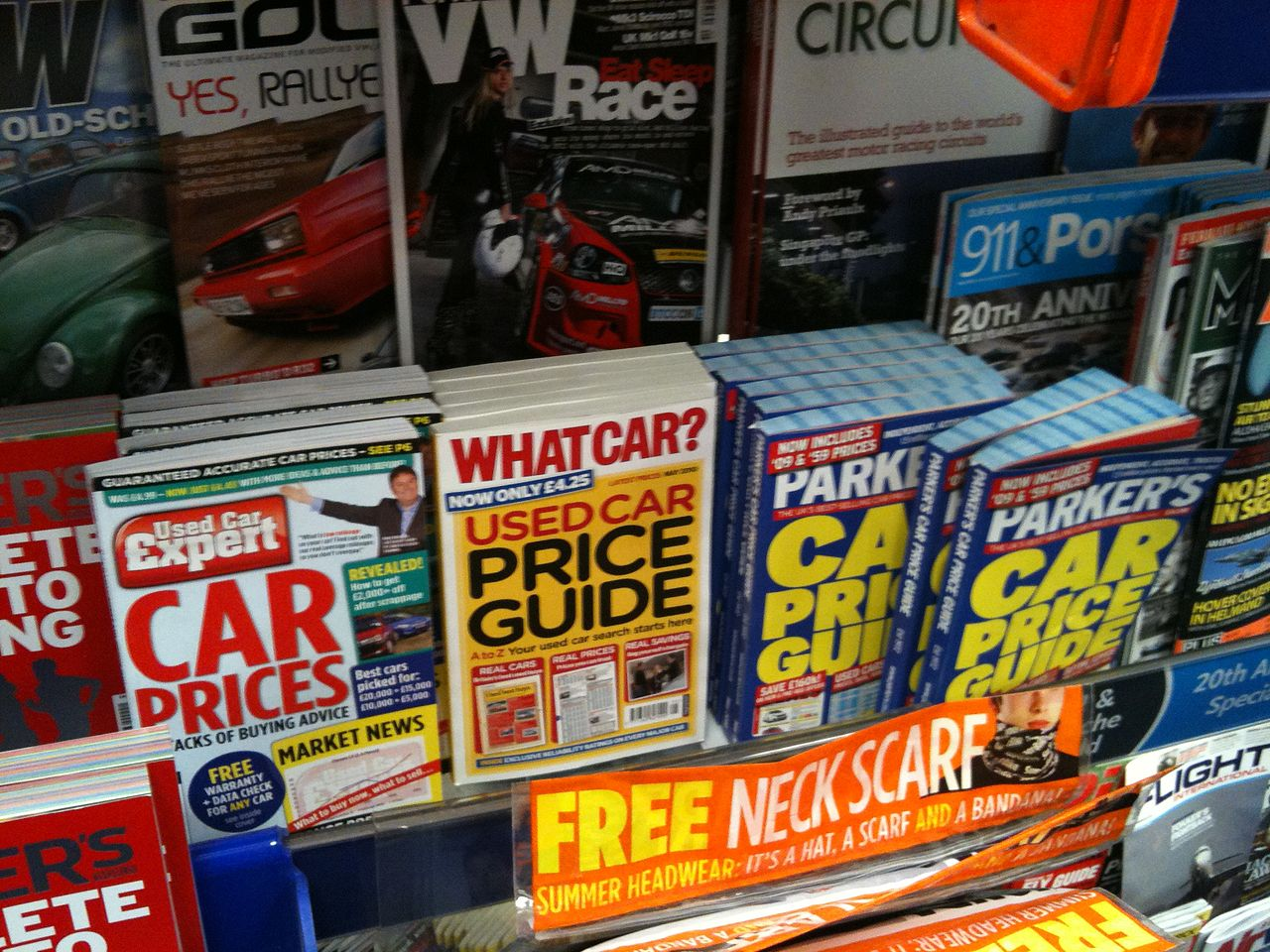 File:Used Car Expert magazine in WH Smith.jpg - Wikimedia Commons