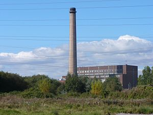 Uskmouth power stations - Image: Uskmouth power station