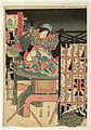 Utagawa Kunisada II - Chicken - Actor Nakamura Shikan IV as Shôgetsuni.jpg