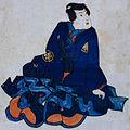 Uzaemon Ichimura XI as Ōe Inaba-no-suke cropped.jpg