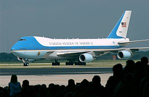 MACDILL AIR FORCE BASE, Fla. -- Air Force One ...