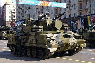 2K22 Tunguska - Tunguska at 2008 Moscow Victory Parade