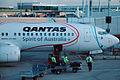 VH-VYE 'Karak' Boeing 737-838 Qantas sporting the Melbourne 2006 Commonwealth Games Livery (9002146315).jpg