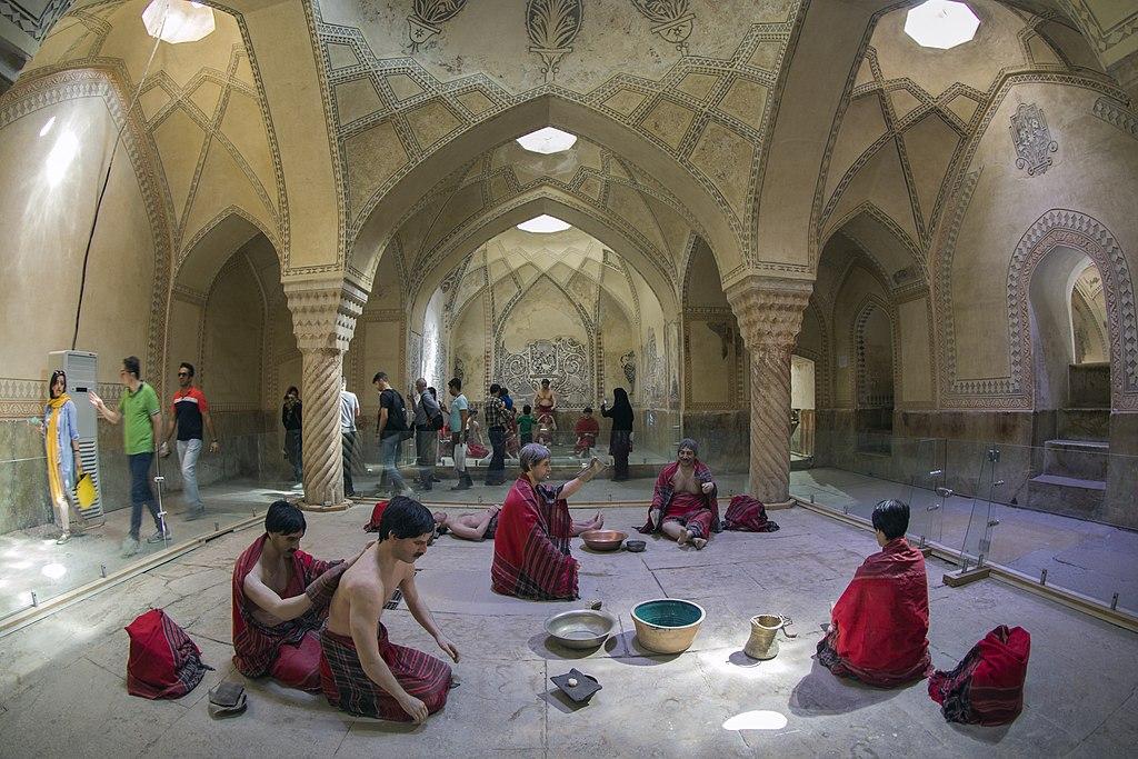 bath public iran women