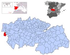 Resultado de imagen de mapa Valdeverdeja,