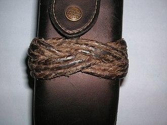 Turk's head knot - Image: Valknop rund