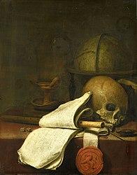 Pieter Symonsz Potter: Vanitas still life